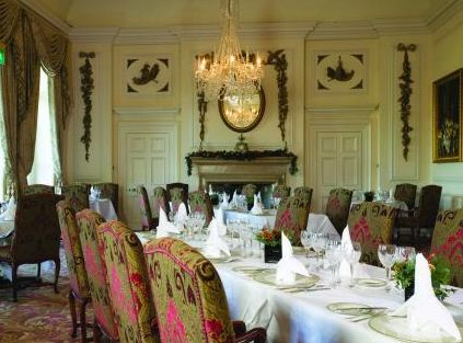 Dining Room at the Luton Hoo Hotel, Golf and Spa - Bedfordshire - UK
