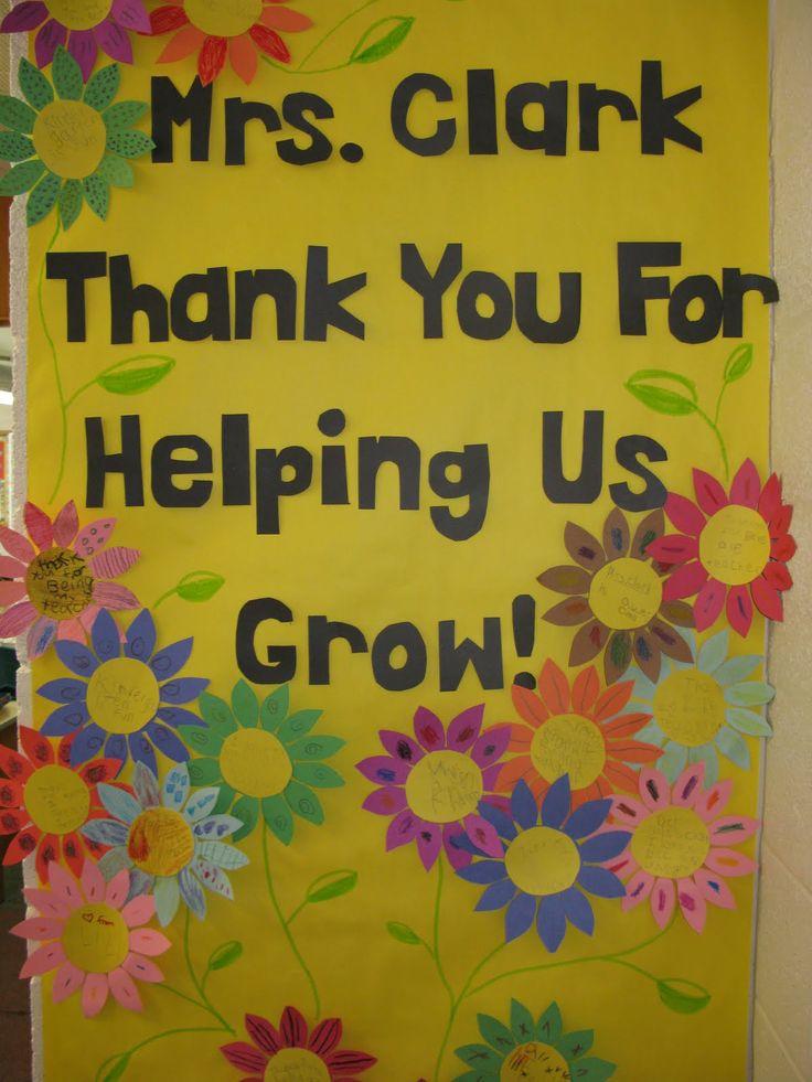 teacher appreciation door decoration ideas - Google Search