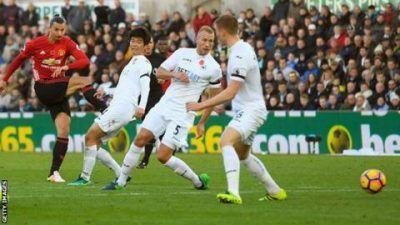 Football League Cup: Swansea City vs Man United 0 – 2 [HIGHLIGHTS]