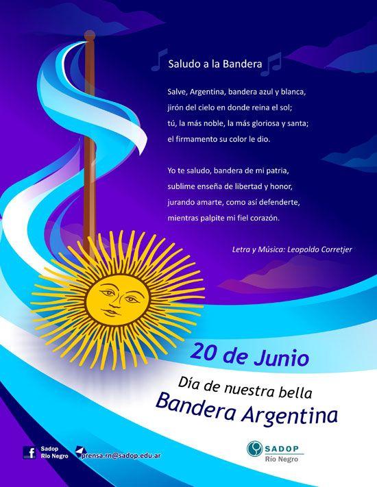 Día de la Bandera - Argentina - 20 de Junio