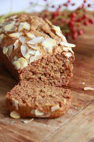 Lekker! Gezonde kruidkoek met appel & amandel. (Recept voor 4 muffins, 17 min in de oven)