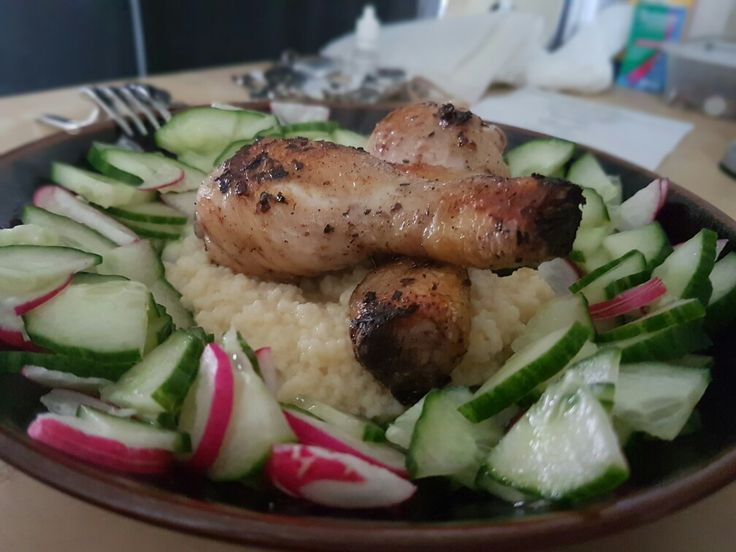 Couscous and chicken