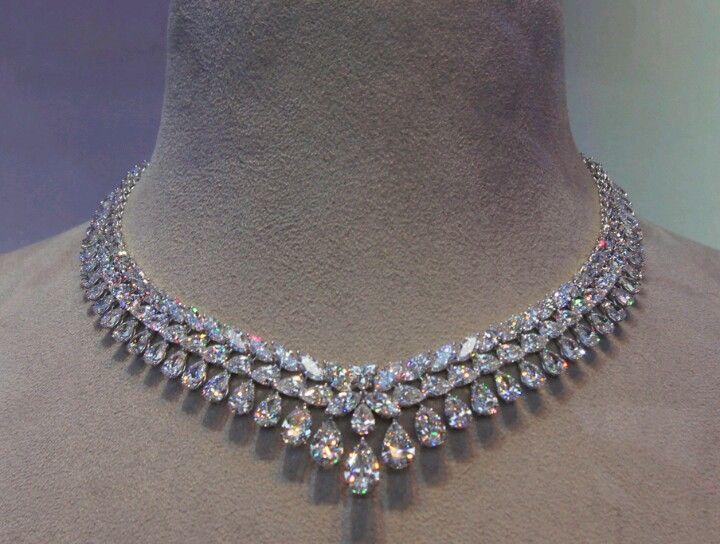 Chaumet diamond necklace