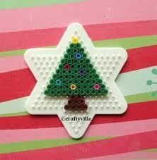 Bildergebnis für Weihnachtsschmuck aus Bügelperlen
