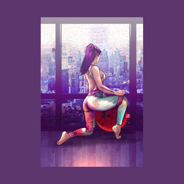 Awesome 'Pilates' design on TeePublic!
