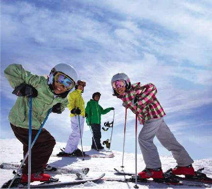 Ski and snowboard deal for kids in grades 4 and 5 in Canada.