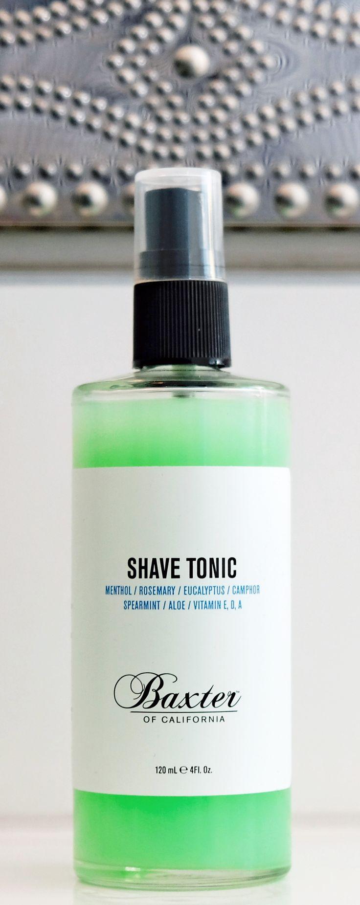 After Shave Tonic from Baxter of California • Männerkosmetik! Geniales Produkt • Love it!
