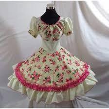 Resultado de imagen para vestidos de cueca chilena blancos