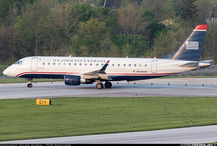 Embraer 175LR (ERJ-170-200LR) - US Airways Express (Republic Airlines)