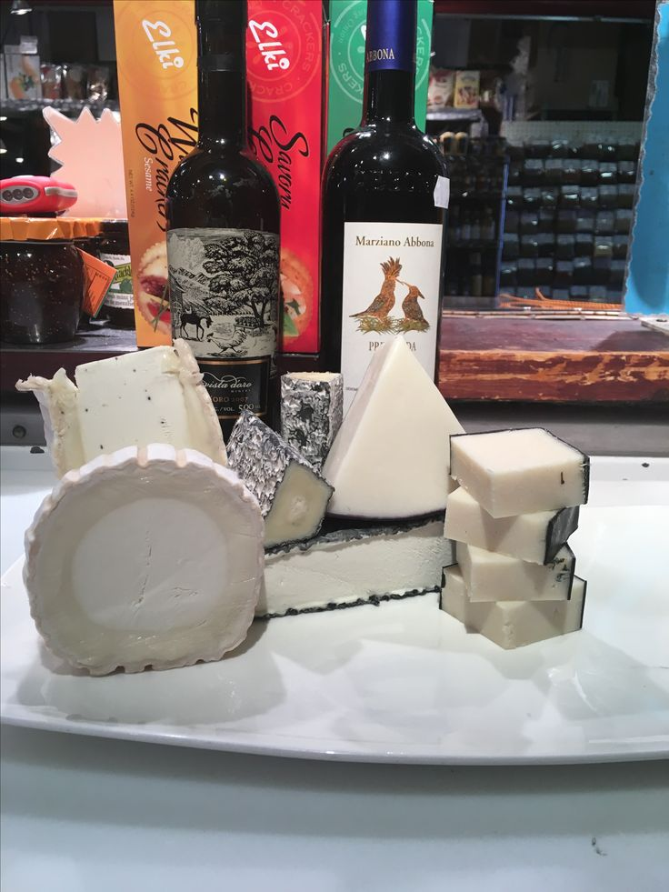 My favourite goat cheeses