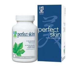 Genuine Health Perfect Skin for Men: Based on leading skin care research and developed in-conjunction with a leading naturopathic doctor and dermatologist, perfect skin for men contains natural proven ingredients including o3mega-EPA concentrate, green tea extract, Zinc and Chromium, to target the main causes of acne.