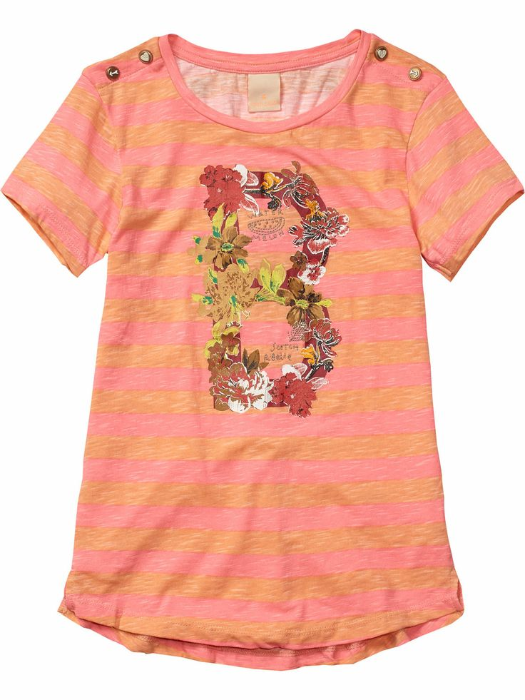 striped t-shirt   T-shirt s/s   Girls Clothing at Scotch & Soda $46