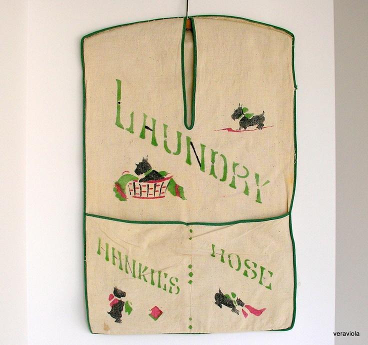 Vintage Laundry Bag 106