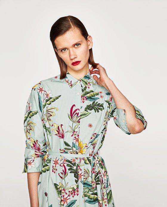 Obrázok 5 z TUNIKA SKVETINOVOU POTLAČOU od spoločnosti Zara