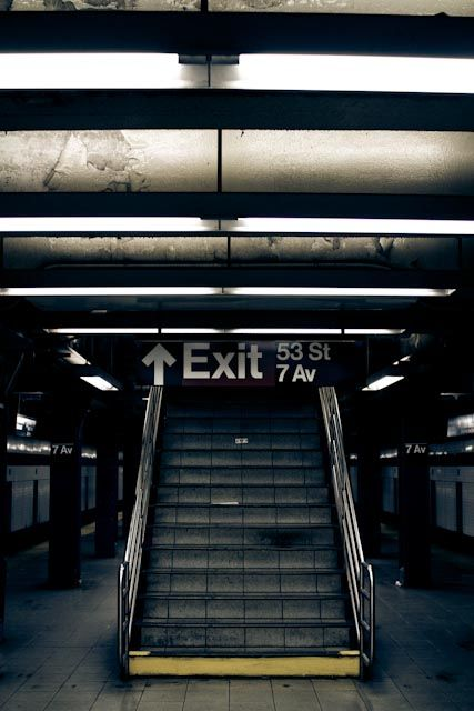 ...NY subway~ is it weird that i miss public transportation???
