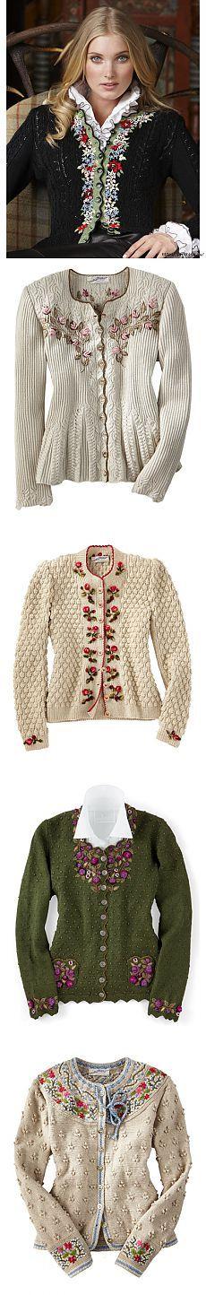 Вышивка на вязаном полотне - идеи,советы и схемы вышивки | Варварушка-Рукодельница