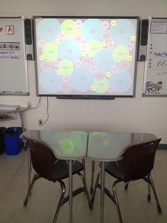 For those lucky enough to have a smart board...All Things Algebra: Exponent Rules Koosh!