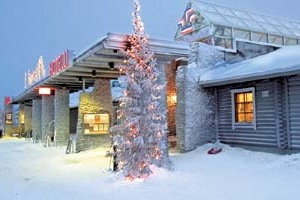 The Hotel Levitunturi in Levi, Lapland, where Phoebe and I stayed over Christmas in 2012