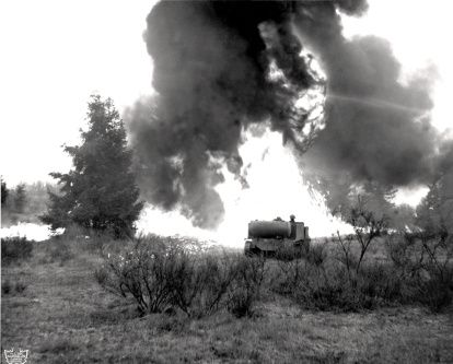 Flamethrower During Korean War