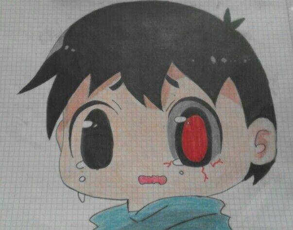 Drawing of Elisa.D -Kaneki-kun- Tokyo Ghoul -chi i