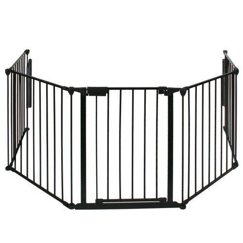 Infantastic - Barrière de Sécurité Enfant 300 x 75 cm (L x H) Grille de Protection pour Cheminée/Escaliers - http://www.darrenblogs.com/2017/02/infantastic-barriere-de-securite-enfant-300-x-75-cm-l-x-h-grille-de-protection-pour-chemineeescaliers/
