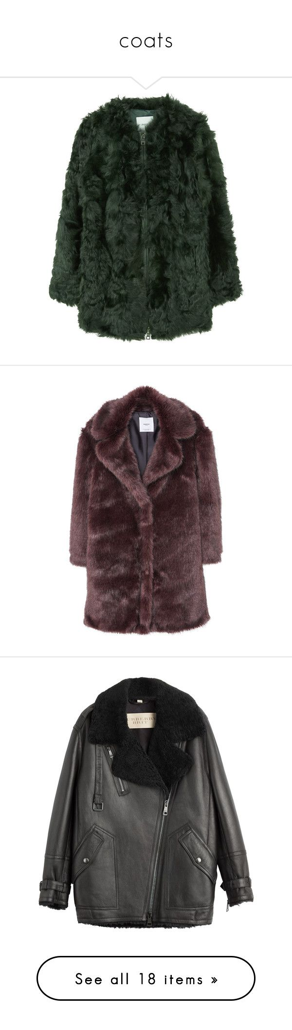 """""""coats"""" by millicent4 ❤ liked on Polyvore featuring outerwear, coats, jackets, fur, coats & jackets, fur lined coat, mango coat, real leather coats, fur-lined coats and zip coat"""