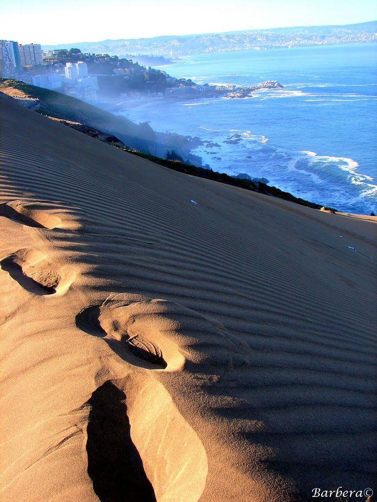 Sand Dune, Viña del Mar, Chile.  Ah, I was supposed to go there during my last…