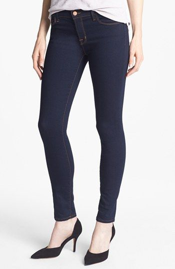 Time to replace the old ones... J Brand Skinny Stretch Jeans (Ink) available at #Nordstrom