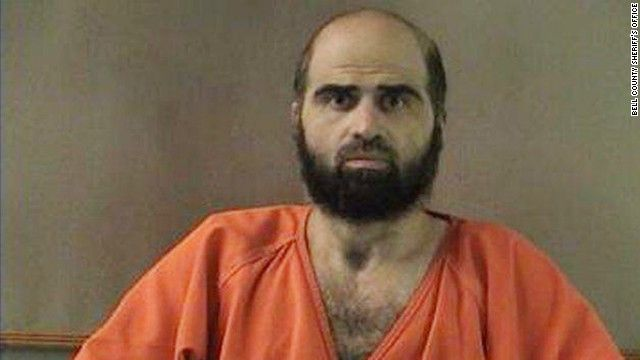 "Nidal Hasan's beard shaved off at Fort Leavenworth Prison. Army statement about Hasan's incarceration at the U.S. Disciplinary Barracks at Fort Leavenworth, Kansas, ""All inmates must conform to AR 670-1, wear and appearance of Army Uniforms and Insignia."" ... .. ...  ""In keeping with the provisions"" of the regulations, ""Inmate Hasan has been shaved."""