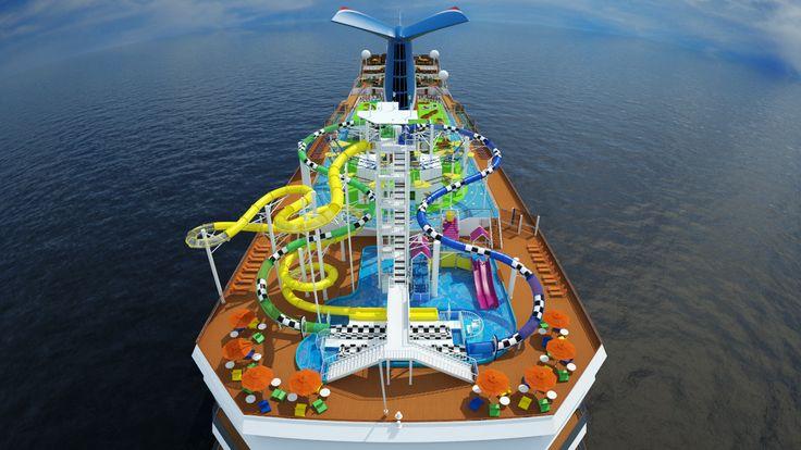 WaterWorks, our very own onboard waterpark.