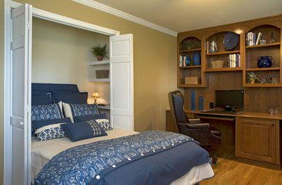 Murphy Bed in Closet in Front Room
