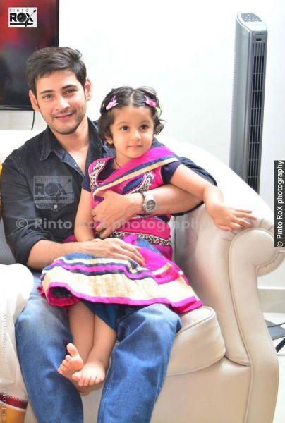 Mahesh Babu With His Family