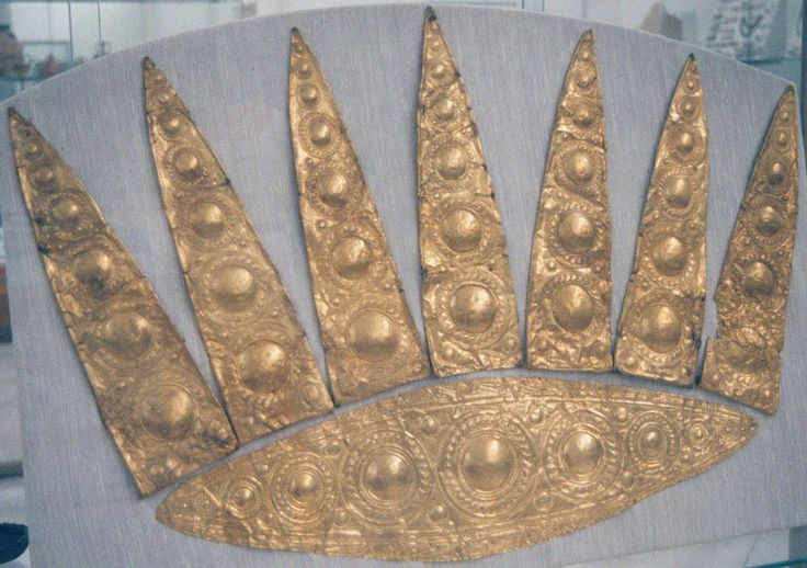 Gold Crown from Mycenae.