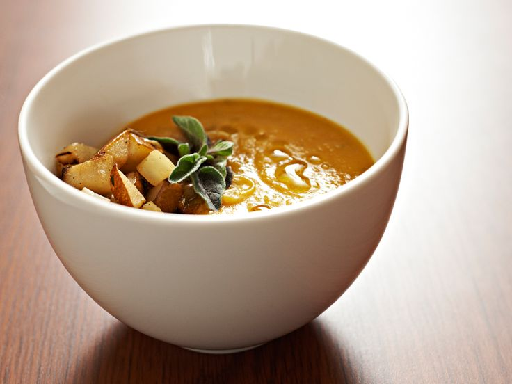 Movie? Check.  Warm blanket? Check.  Cosy comfort food of Butternut Squash & Apple Soup?  Check, check, check!