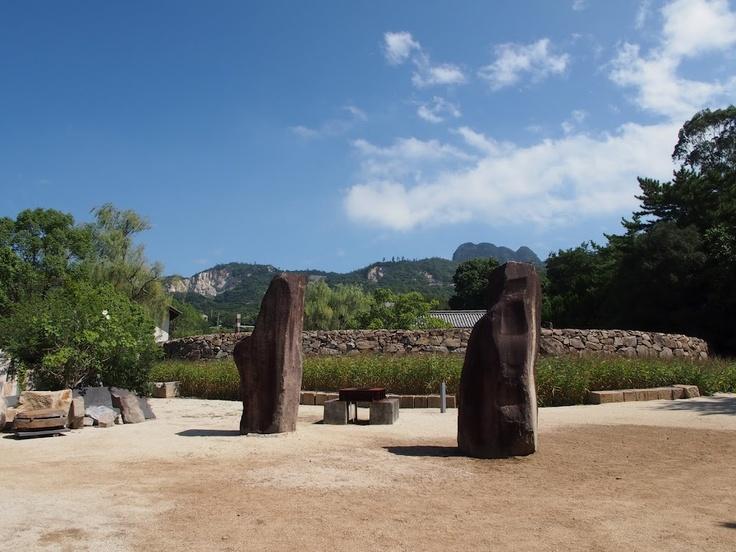 イサム・ノグチ庭園美術館。
