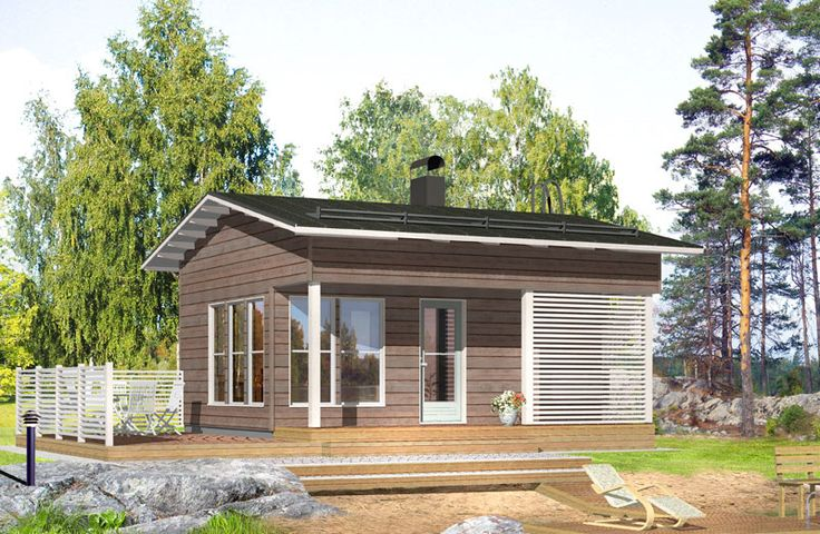 Separate sauna building