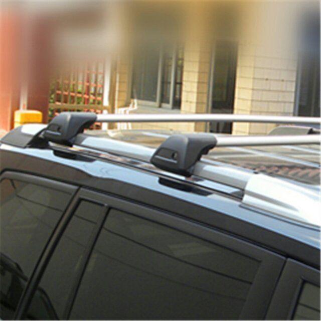 universal lockable cross bar car roof rack mute no noise