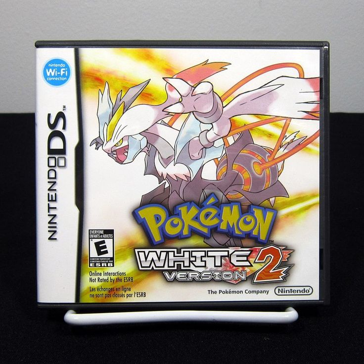 Pokemon: White Version 2 (Nintendo DS, 2012) Complete & Tested #Pokemon