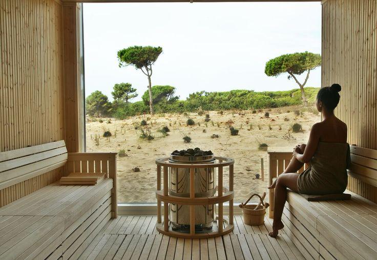 The Oitavos combinación de ultramodernidad con entorno de belleza natural