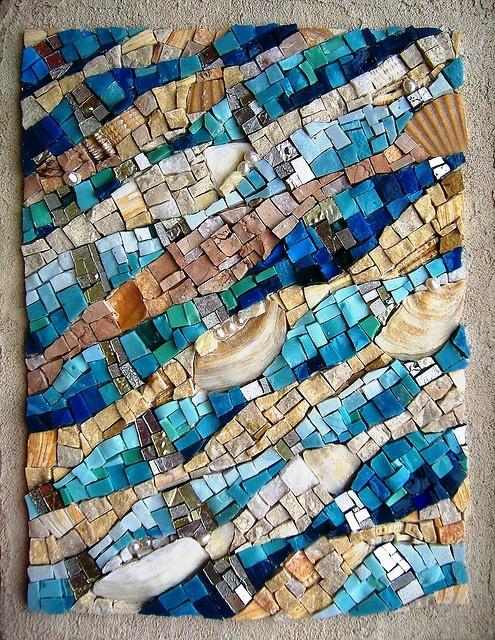 mosaic - love the texture!