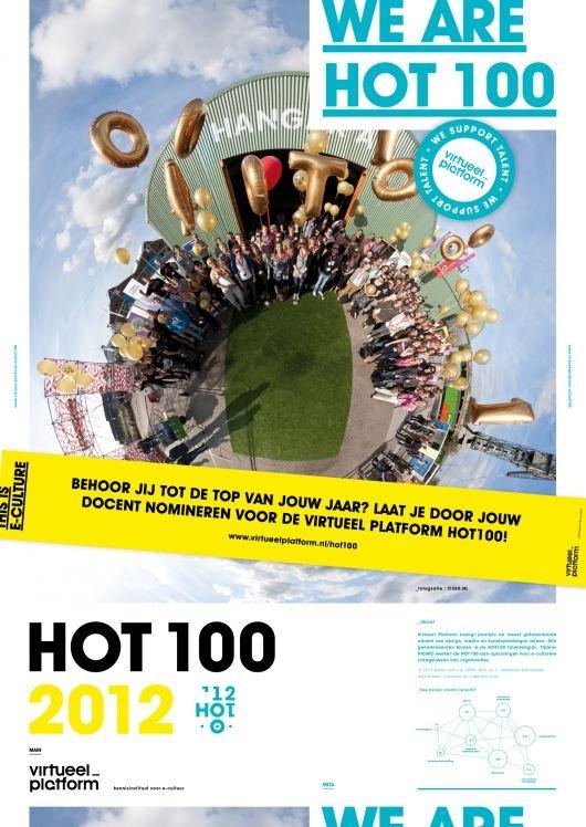 Virtueel Platform organiseert op 17 september 2012 de HOT100-dag op PICNIC. De meest getalenteerde alumni van kunstacademies, universiteiten en hogescholen op het gebied van media, kunst en digitale cultuur komen dan voor de zesde keer bij elkaar. Leer ze kennen op dit Pinterest Board!