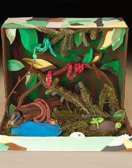 Lets make boxs again....jk Pythons in the Wild Lesson Plan - Crayola OFFICIAL Site Rousseau's Jungle