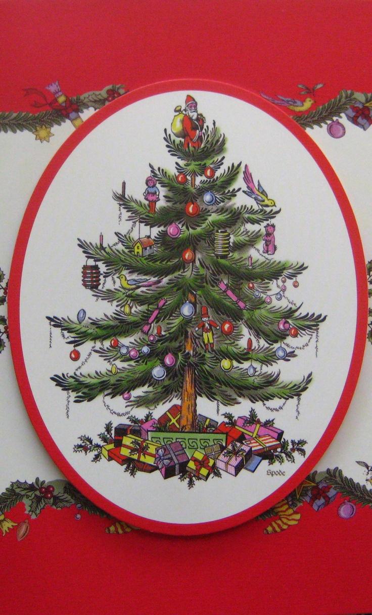 Classic Spode Christmas Tree Design