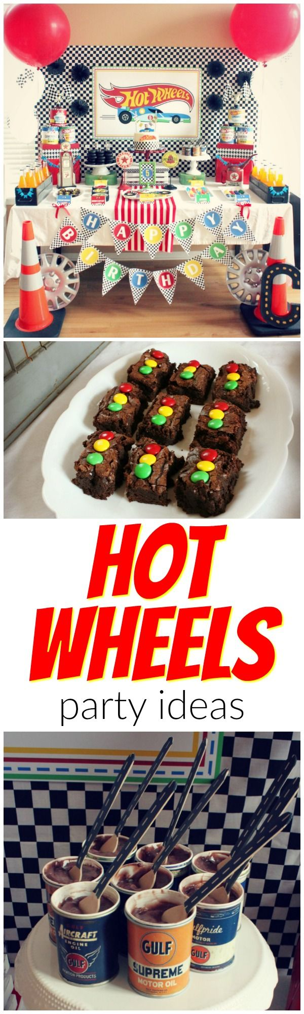 Awesome HOT WHEELS party ideas!