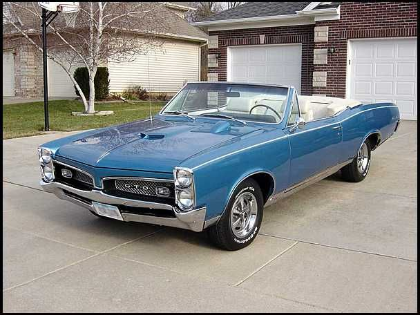 1967 Pontiac Gto Convertible 400 4spd Love American Style Cars