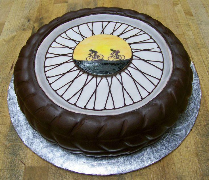 BMX tire cake