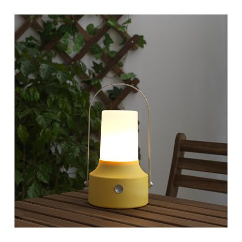 IKEA - SOLVINDEN, LED solar-powered lantern, , Easy to use because no cords or plugs are needed.Helps you save energy and reduce your environmental impact because it is powered by a solar panel that converts sunlight into electricity.Uses LEDs, which consume up to 85% less energy and last 20 times longer than incandescent bulbs.