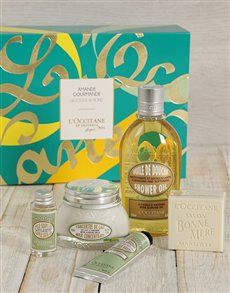 gifts: LOccitane Delicious Almond Gift Set!