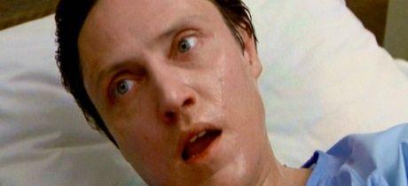 David Cronenberg primer plano picado