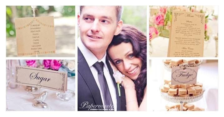 Sharlene & Julian 20  09  2013 — with Sharlene Knight at The Plantation - Exclusive Wedding & Function Venue. Port Elizabeth Wedding Stationery  Papermaster